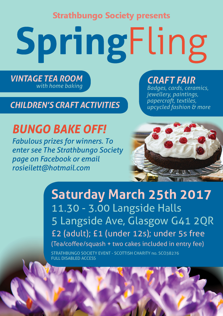bungo blog events spring fling poster
