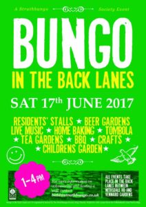 Bungo in the Back Lanes poster